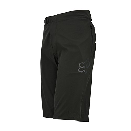 Fox Racing Attack Short - Men's Black/White, 40 by Fox Racing
