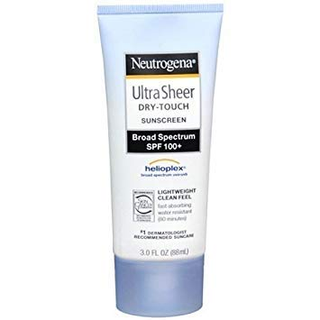 Neutrogena Ultra Sheer Dry-Touch Sunscreen, SPF 100 3 fl oz (88 ml) by AB