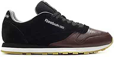 7fb619b4f9b Reebok Classic Leather Ls (Black Burnt Sienna ASH GR) Men s Shoes BS5079