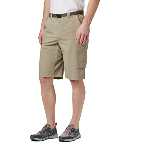 Columbia Men's Silver Ridge Cargo Short, Tusk, 32x10 (Sportswear Columbia New)