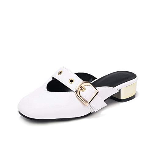 Compensées Blanc 5 AdeeSu Femme Sandales SLC04416 36 Blanc PawnqzHnBv