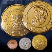 Harry Potter Gringotts Bank Coin Collection by The Noble Collection (Image #2)