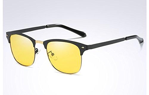 tonos Classic ropa Guía Frame vision negro gafas sol oscuro hombres sol TL Black night hombres gafas para Black de verde de polarizadas Sunglasses Z4wq6nxa
