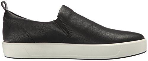 ECCO Soft 8 Mens, Sneaker Infilare Uomo nero