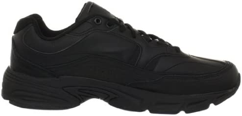 31QhgeDQ4nL. AC Fila Men's Memory Workshift Slip Resistant Work Shoe    Feel comfortable without sacrificing performance and protection in your work day with the Fila Memory Workshift slip resistant safety shoe. Where premium meets utility, the Memory Workshift is constructed from durable leather and synthetic overlays to give you a dependable work shoe that meets your occupational needs. Our Fila Memory Workshift shoe features a rubber slip resistant outsole to provide traction against slick or wet surfaces – tested in accordance with the applicable industry standards, including: ASTM F2913-11. Though designed to help prevent slips, you should always exercise caution on slick surfaces.