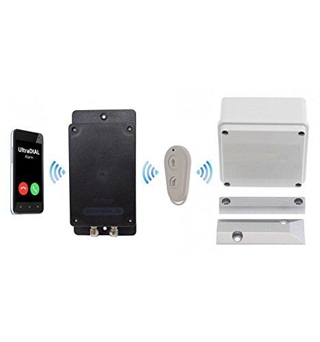 Remote Covert Battery Silent 3G Gsm Ultradial Gate Alarm (Sim Card)