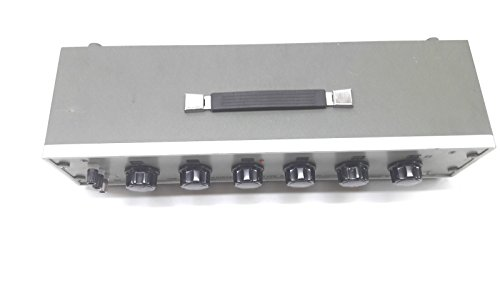 [해외]대서양 해양 - 요코가와 2793 10 년 저항 상자 DC 가변 저항 6 다이얼/Atlantic Maritime - Yokogawa 2793 decade resistance box DC variable resistor