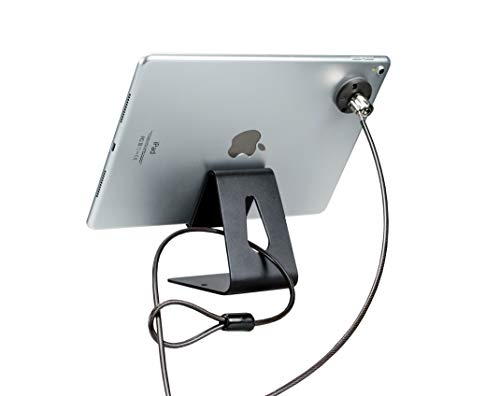 (CTA Digital PAD-TDSK Tablet Desktop Security Kit with Display Stand and Theft-Deterrent Cable)