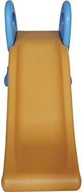 DIVERGARDEN Tobogan Plegable 107x35x70 cm Azul