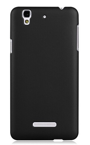 big sale 415ae 20e16 WOW Imagine(TM) Rubberised Matte Hard Case Back Cover for Micromax YU  Yureka/Yureka Plus (Black)