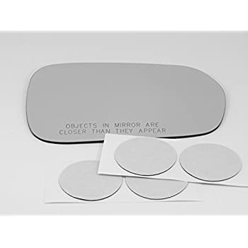 Fits 08-10 Saturn Vue Right Passenger Convex Mirror Glass Lens w//Silicone USA