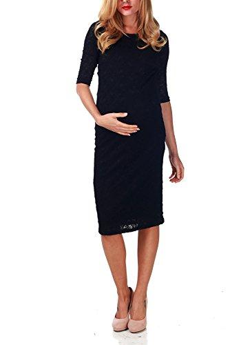 8261ebcf951 Image of the PinkBlush Maternity Black Lace Maternity Dress