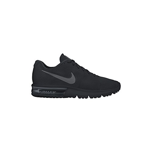 Nike Air Max Sequent Mens Running Shoes Black/Dark Grey-Black 719912-020 (11.5) (Black Grey Air)