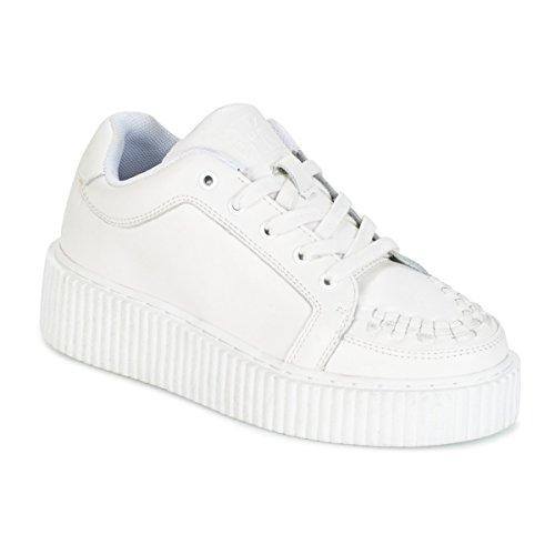 Enredadera Casbah T Cuero Shoes K Blanco Mono Blanco U Zq04R