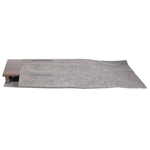 Richards Homewares Table Leaf Storage Bag With Handle Grey