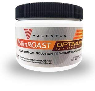 VALENTUS Slim Roast - Dark Roast Coffee 3.7 Oz. Canister (30 Servings)