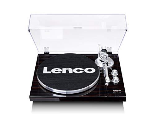 Lenco LBT-188 platenspeler – Bluetooth draaitafel – riemaandrijving – 2 snelheden 33 en 45 rpm – anti-kating – vinyl…