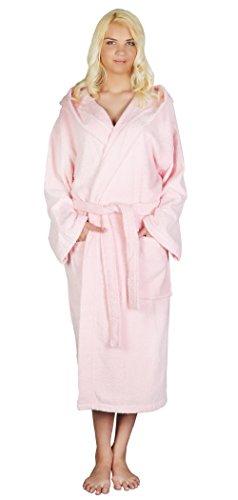 be45863c65 Arus Women s Classic Hooded Bathrobe Turkish Cotton Terry Cloth ...