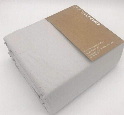 (DKNY Pure Garment Washed Twin Sheet Set - Light Grey)