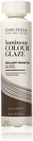 John Frieda Brilliant Brunette Luminous Color Glaze, 6.5 Ounces