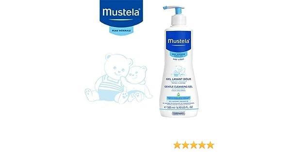 Mustela Gel de baño 2X 500ml: Amazon.es: Bebé
