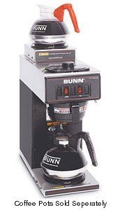 BUNN 13300.0012 Black Pourover Coffee Maker with 2 Warmers by Bunn