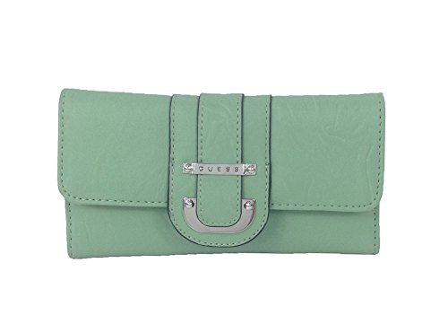 GUESS 'Donna' Trifold Continental Wallet, Mint