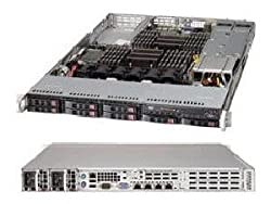 SUPERMICRO 1027R-WRFT+ Barebone System - 1U Rack-mountable - Intel C606 Chipset - Socket R LGA-2011 - 2 x Processor Support - Black / SYS-1027R-WRFT+ /