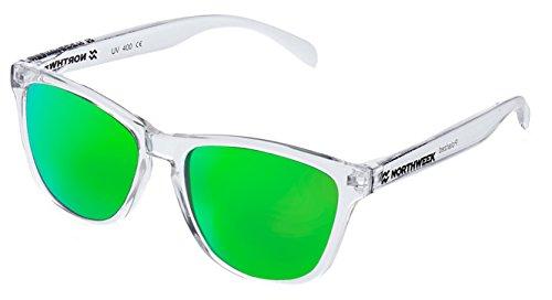 Bright Northweek sol de verde polarizada lente Gafas white ALL wq7IPP4E