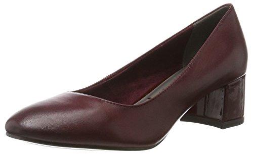 Tacón Mujer Rojo Para De 22306 Zapatos merlot Tamaris qwc8XHtfxx