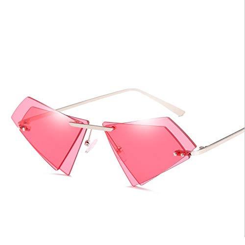 UV Retro UV400 pink Gafas Sol Protección Ojo De De Doble De Forma Opcional Blue Lente De Gato Tx7Xxwf