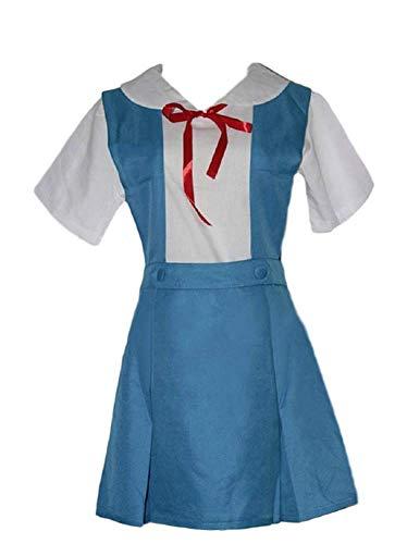 Rei Ayanami School Uniform Costumes - GK-O Anime Evangelion Rei Asuka School
