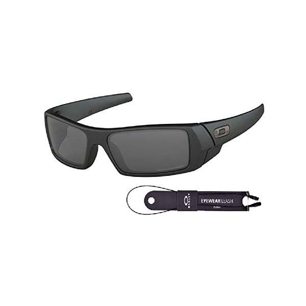 Oakley Gascan OO9014 Sunglasses For Men+BUNDLE with Oakley Accessory Leash Kit