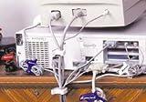 Qa Worldwide CCM 0103-UP-001 Medium White Cable