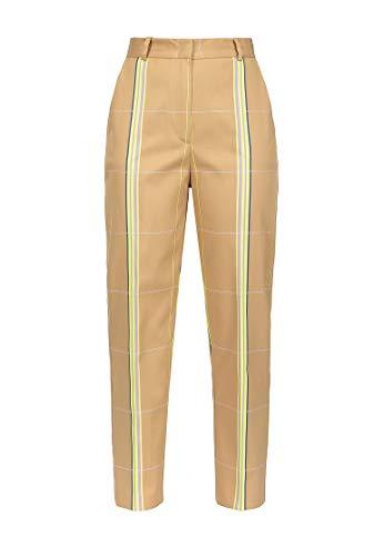 Beige Fluo Pantalón Mujer Pinko Para giallo W6wR1x0qg