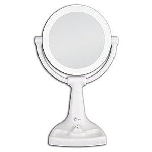 Zadro™ MAX110B 1x/10x Magnifying 22 watt Max Bright Sunlight Extendable Arm Vanity Mirror