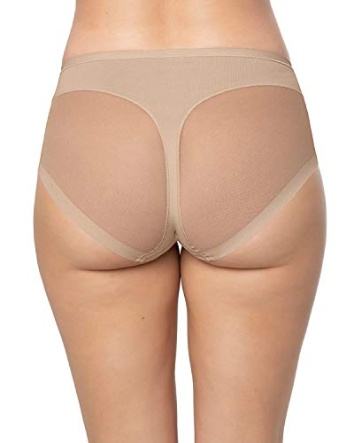Leonisa Super Comfy Control Panty Shaper, Medium , Nude