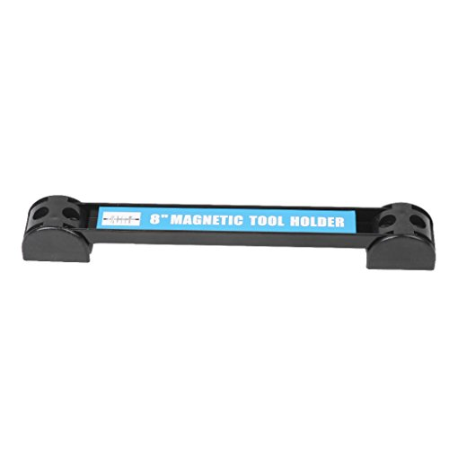 Onpiece 8'' 12'' 18'' Magnetic Tool Holder Bar Racks with 4 Mounting Screws, Metal Magnet Storage Tool Organizer Racks, Great for Garage Workshops (8'') by Onpiece (Image #1)