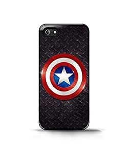 captain america stencil For Apple Iphone 4/4S Case Cover