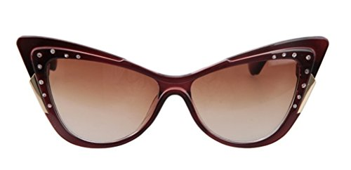 The Tidal Current Female Inlaid CZ Sunglasses Retro Cateye - Outlet Sunglasses Rb
