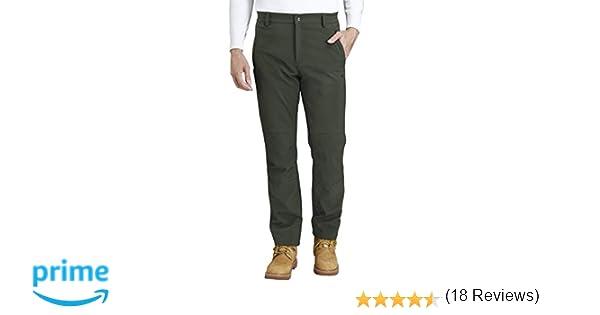CAMEL CROWN Pantalones Trekking Acampada Impermeables Softshell ...