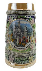 Mini Beer Stein Shot Glass (Essence of Europe Gifts Ludwig's Mini Beer Stein Shot)