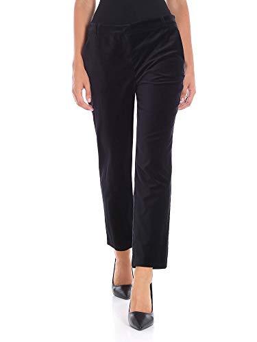 Donna Nero Cotone Pinko Pantaloni 1g13qd7082z99 qzx5wFZ6