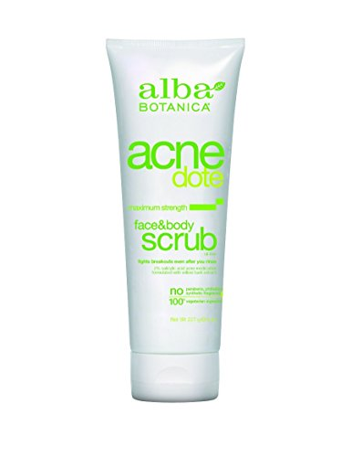 Alba Botanica Natural Acnedote Face & Body Scrub - 4