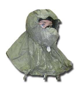 Military Chemical Hood for Gas Masks Head NBC Protection