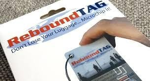 ReboundTAG Smart Luggage Tag: RFID, NFC, QR Code: Includes Customer Service Contact To Help You Find Your Lost Luggage by ReboundTAG