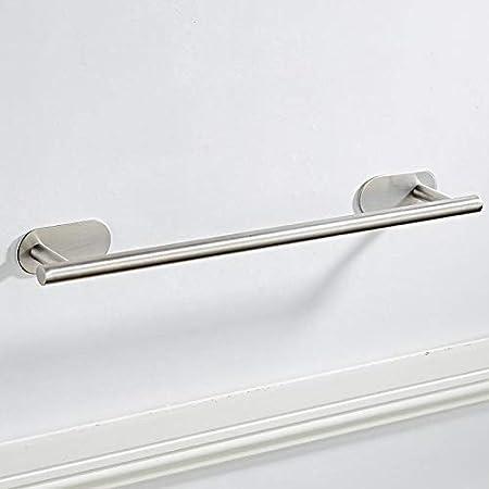 Fablcrew Barre de Serviette Acier Inoxydable Barre Porte-serviettes Auto-adh/ésif Porte-serviette Mural Support Serviette pour Salle de Bains ou Cuisine 40CM