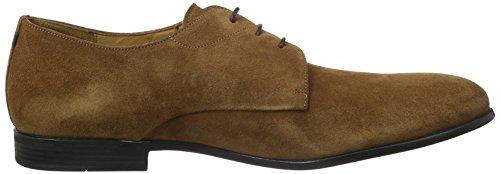 Joop! Kleitos Derby Lace Suede - Zapatos Derby Hombre Marrón
