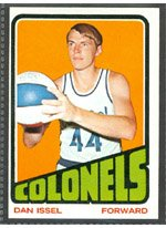 1972 Topps Regular (Basketball) Card# 230 Dan Issel of the Kentucky Colonels Ex Condition