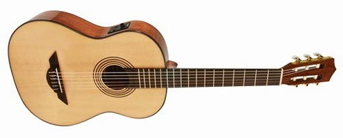 H. Jimenez El Maestro Nylon String Classical Acoustic-Electric Guitar